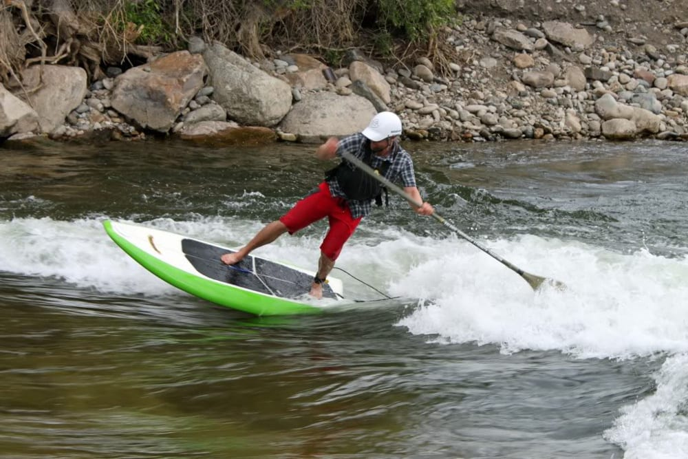 Salida Whitewater Park River Surfing