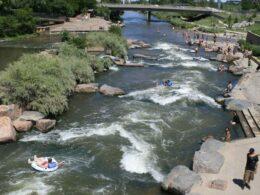 South Platte River Tubing Confluence Park Denver