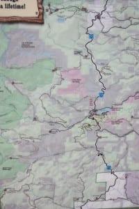 West Magnolia Trailhead Map Colorado