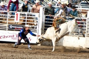 Steamboat Springs Rodeo Bull Riding
