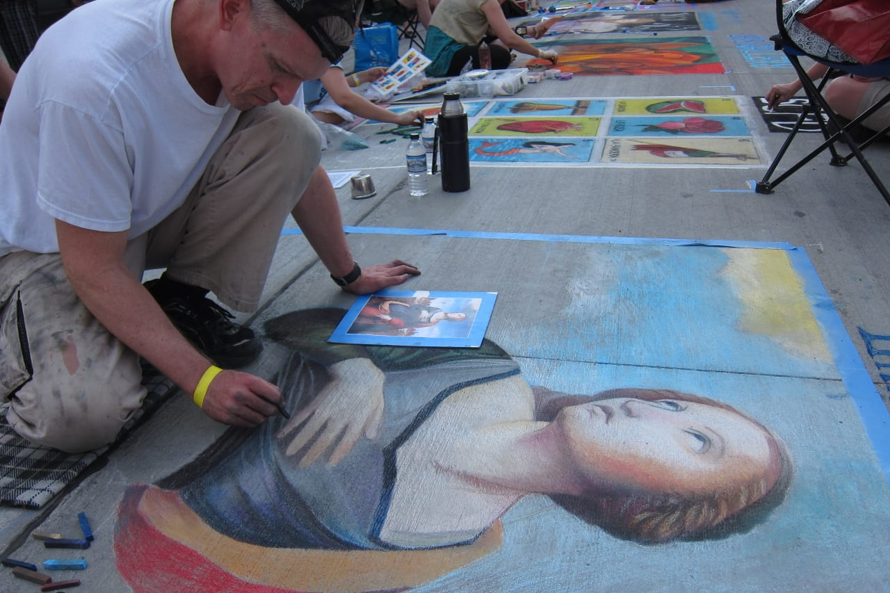 Denver Chalk Art Festival Artists