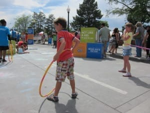 Denver Chalk Art Festival Kids' Corner