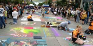 Denver Chalk Art Festival Returns to Larimer