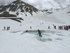 Arapahoe Basin Closing Day Pond