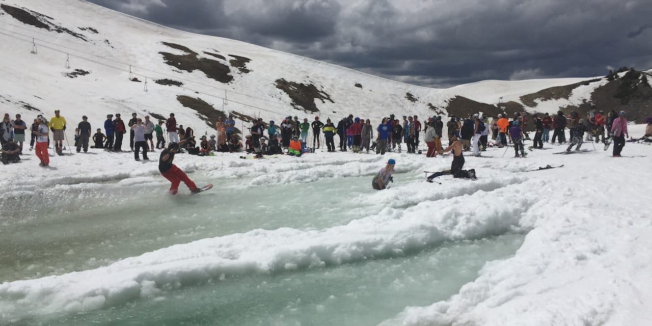Arapahoe Basin Pond Skimming