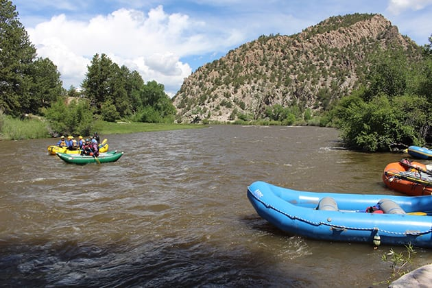Arkansas River Rafting Ruby Mountain