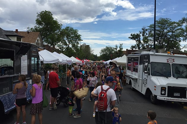 32nd Avenue Farmers Market Denver