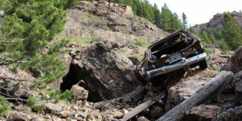 Rollins Pass Crash Car