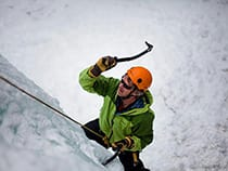 Apex Mountain School Ice Climbing