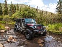 Backbone Adventures Jeep