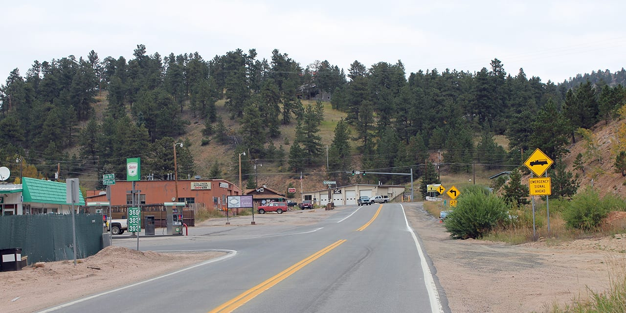 Downtown Coal Creek Colorado