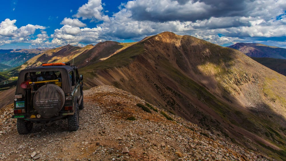 Colorado Off Road Jeep Mountain Peak
