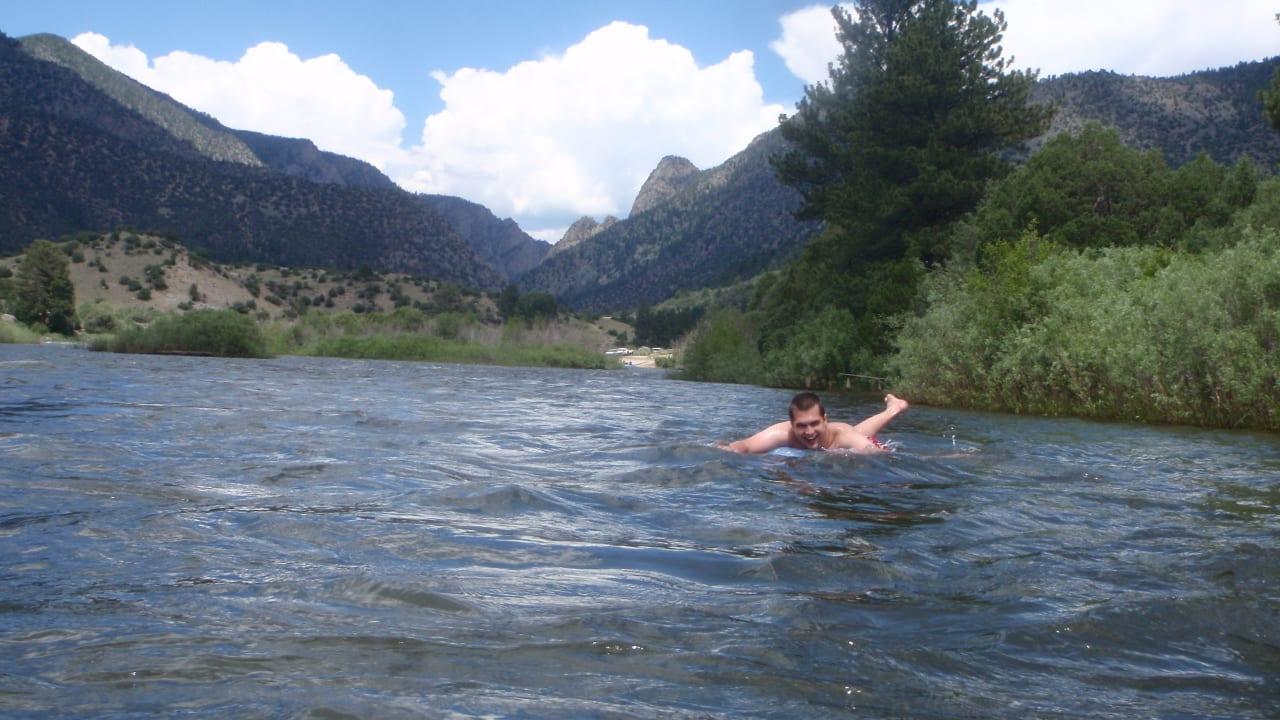 Colorado River Tubing Floating