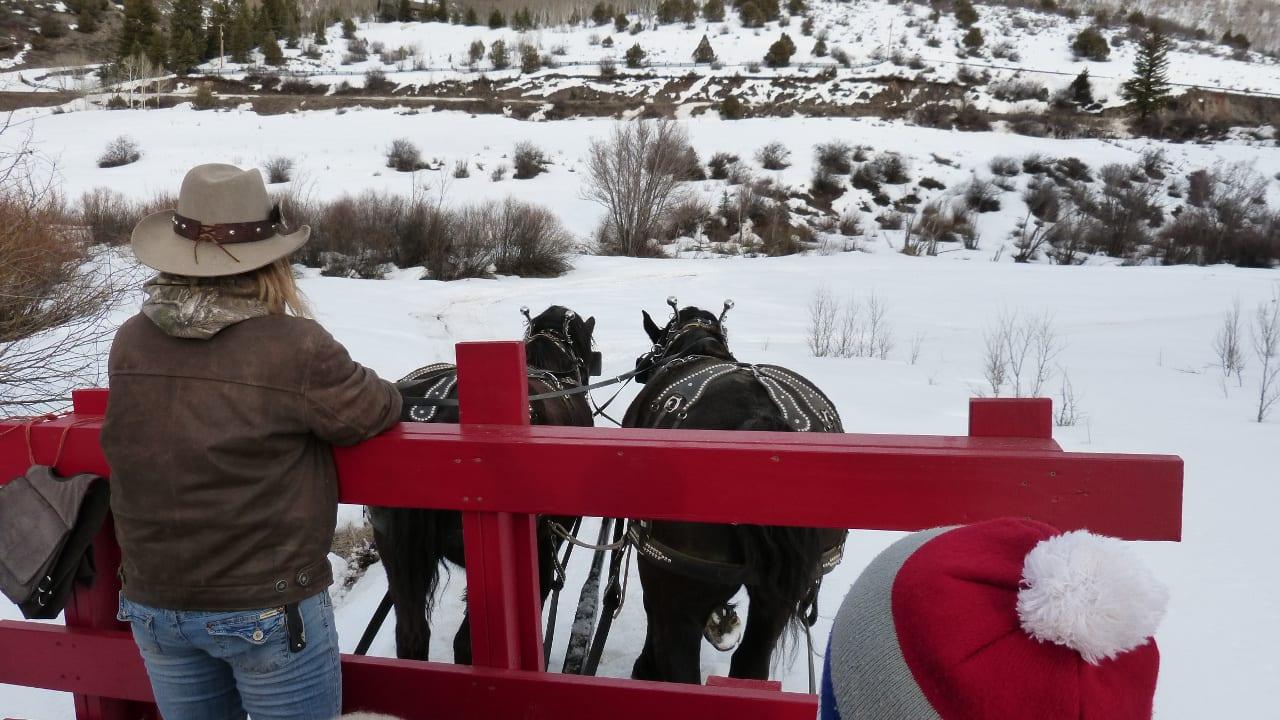 Sleigh Ride Dinner Edwards Colorado