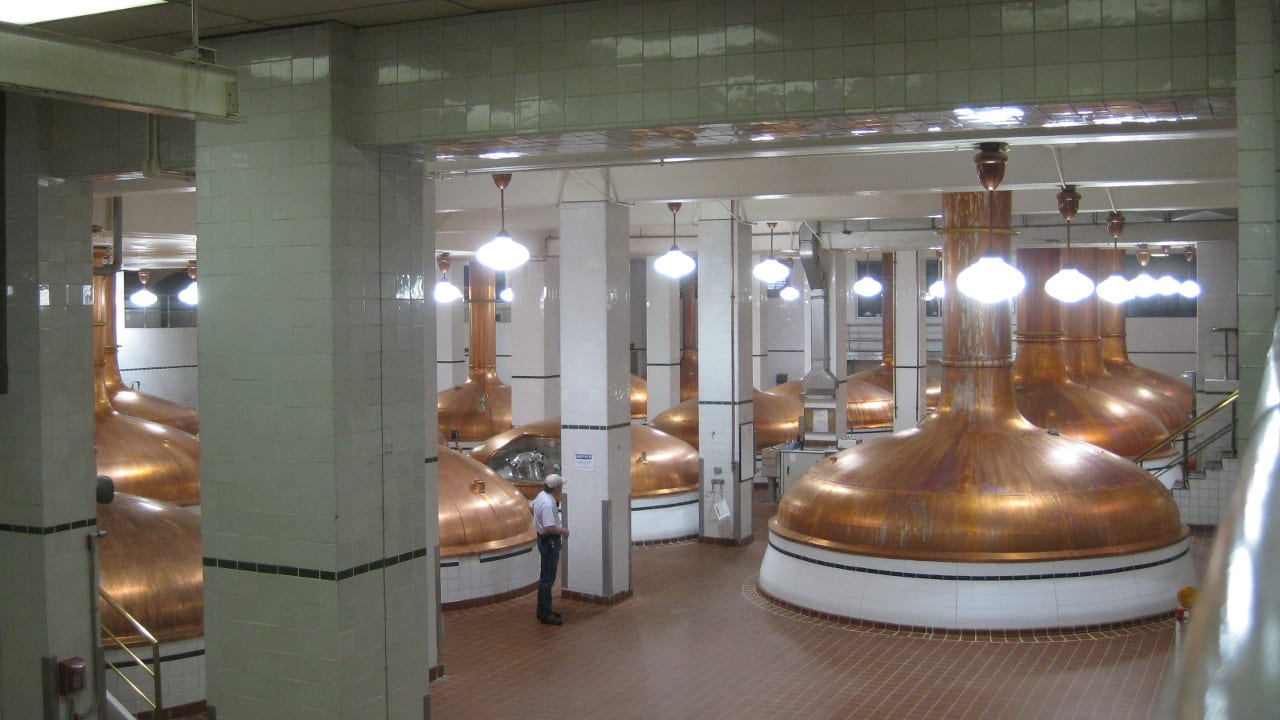Coors Brewery Tour Kettles Golden Colorado