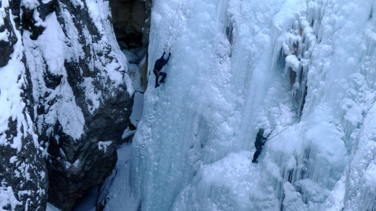 Ice Climbing Ouray Colorado
