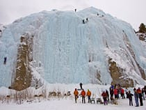 Lake City Ice Park Ice Climbing