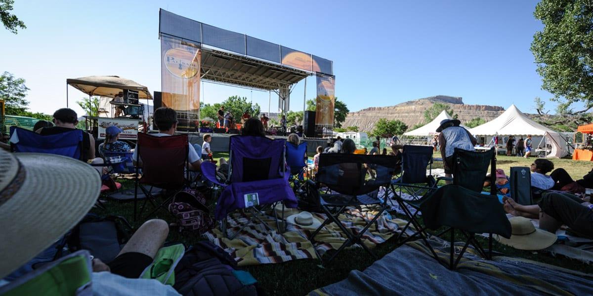 Palisade Bluegrass Roots Festival