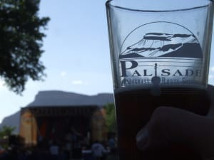 Palisade Bluegrass Roots Festival Pint Glass