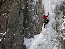 Peak Mountain Guides Ice Climbing