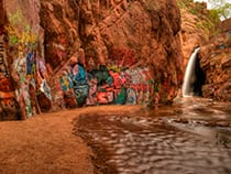Rainbow Fall Manitou Springs