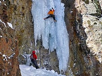 San Juan Mountain Guides Ice Climbing