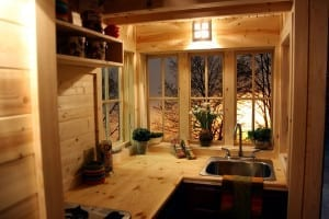 Tumbleweed Tiny House Cypress Kitchen