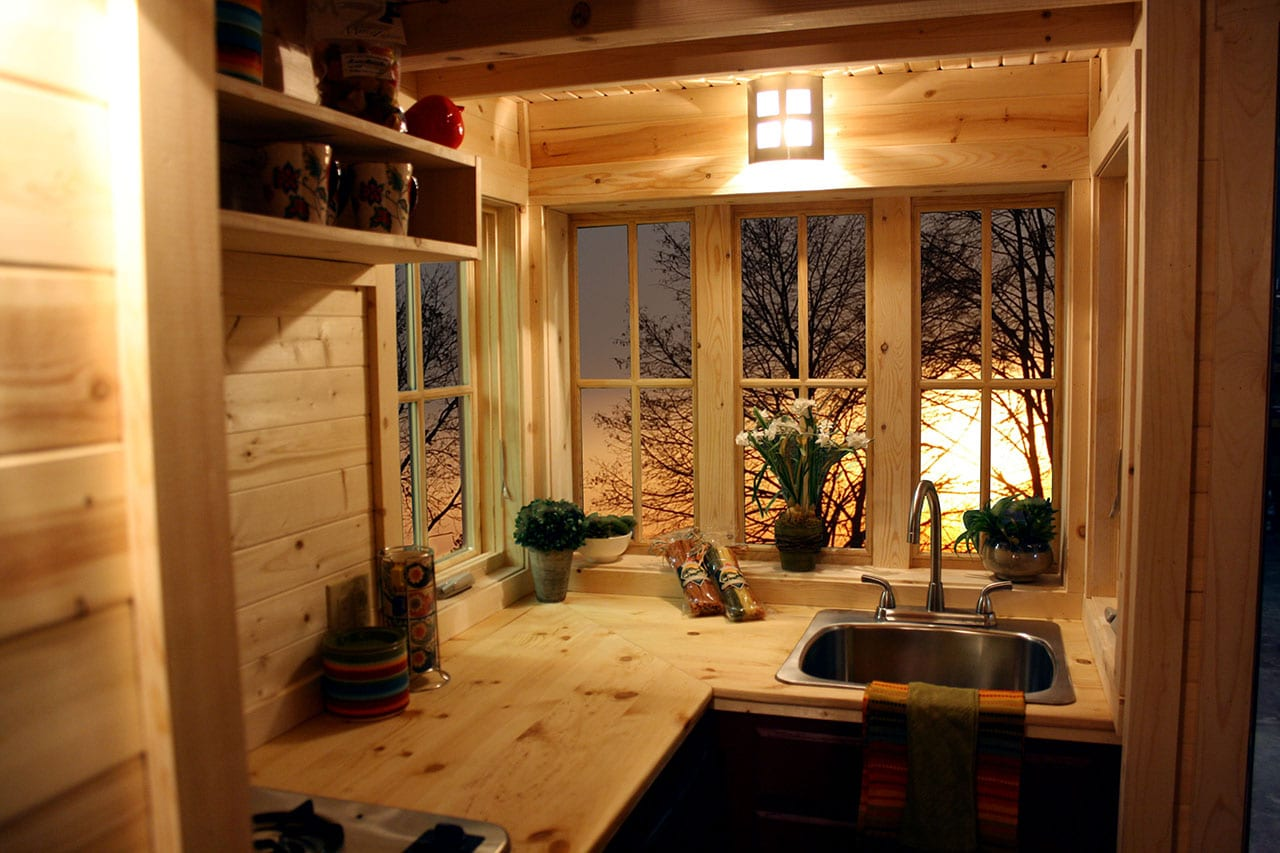 Tiny home large lifestyle colorado travel blog for Kitchen and bath showrooms colorado springs