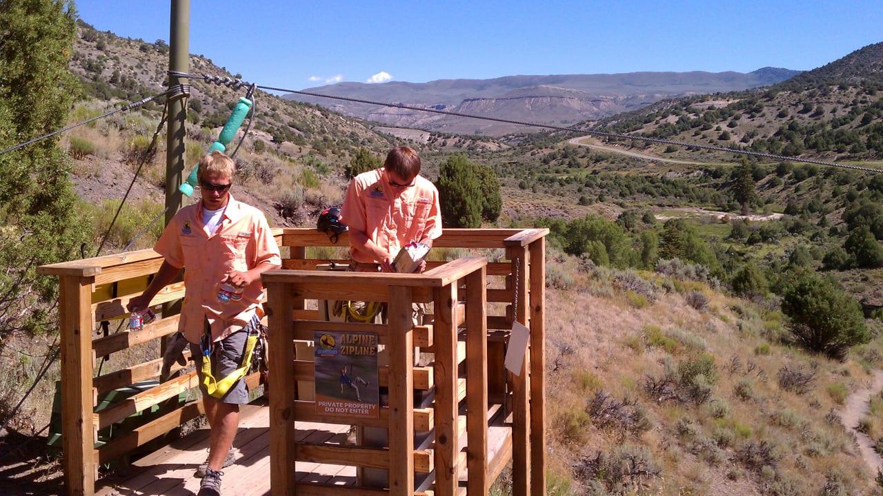 Zip Line Guides Wolcott Colorado