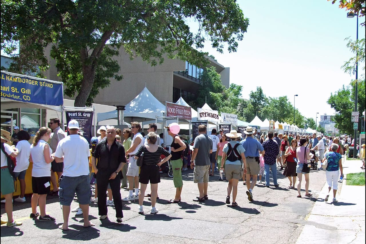 Cherry Creek Arts Festival Food Court