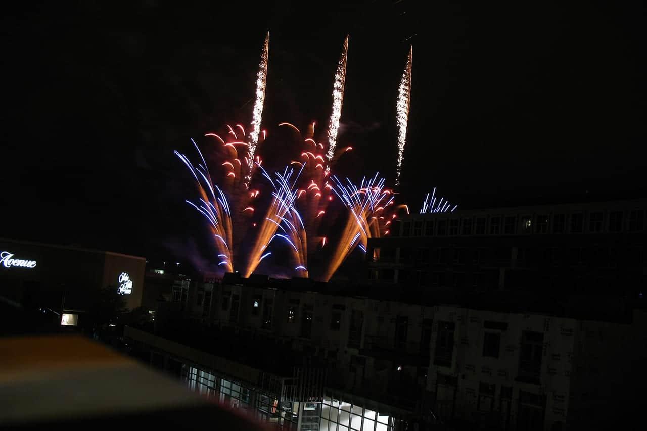 Cherry Creek Arts Festival Fireworks