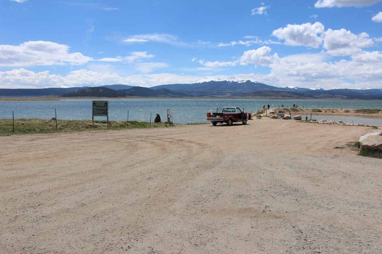 Antero Reservoir Small Boat Ramp