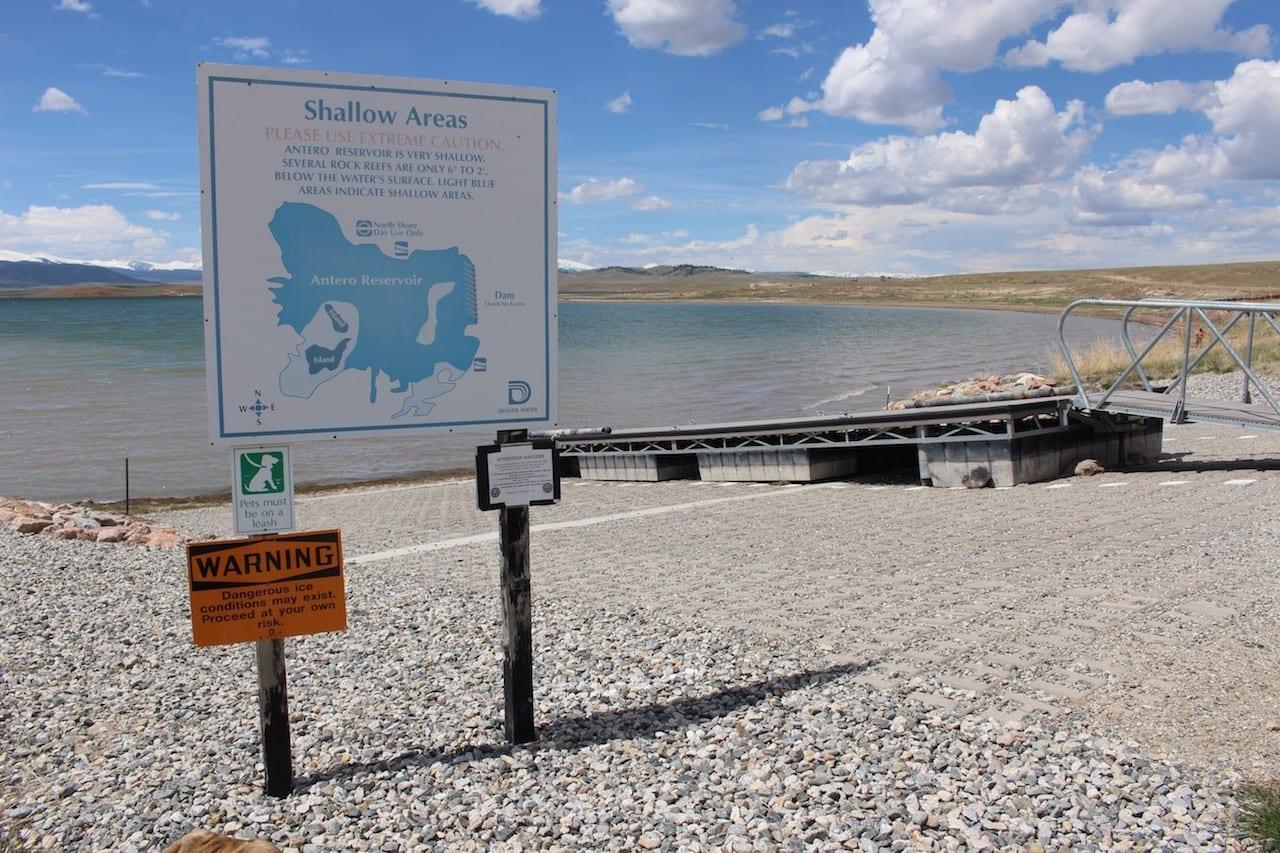 Antero Reservoir Hartsel Pike National Forest