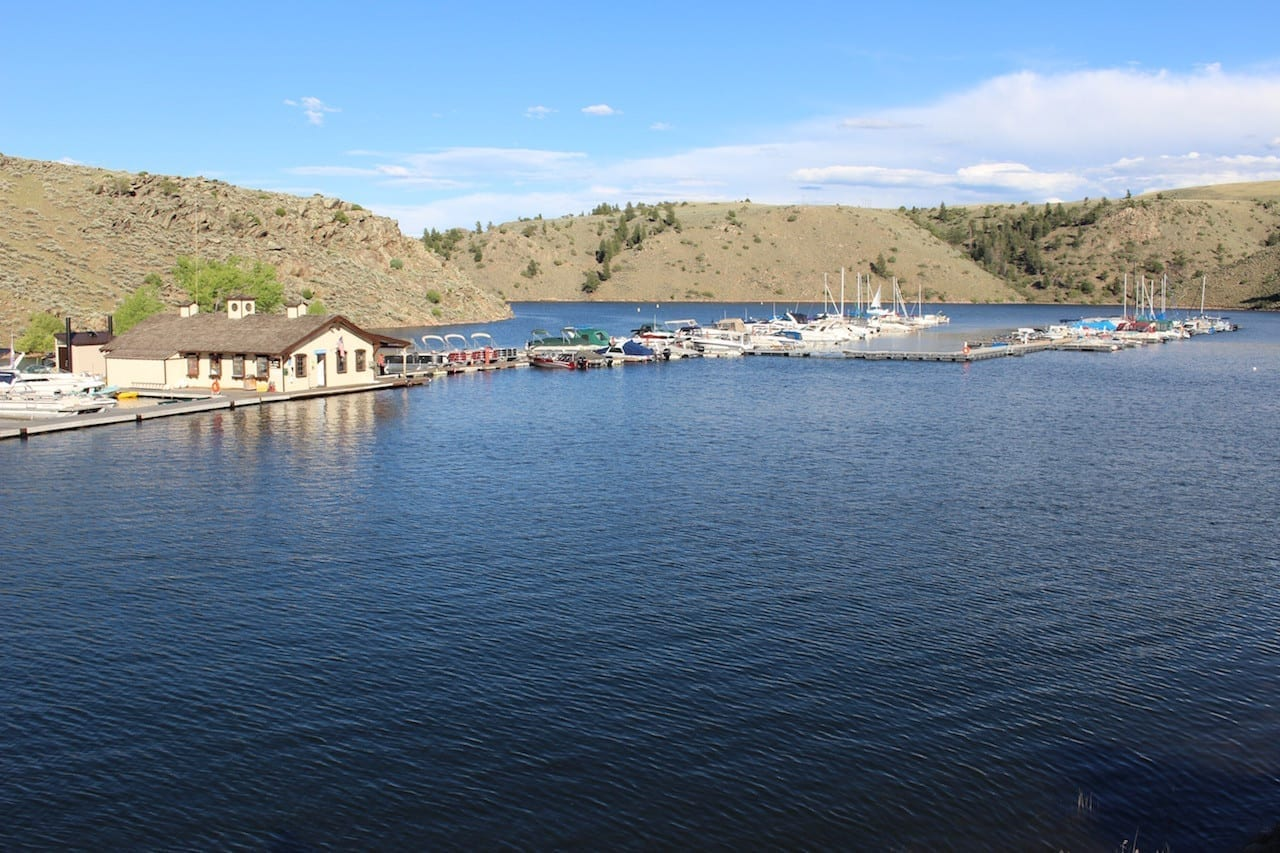 Boating on curecanti 39 s blue mesa reservoir colorado for Blue mesa reservoir fishing