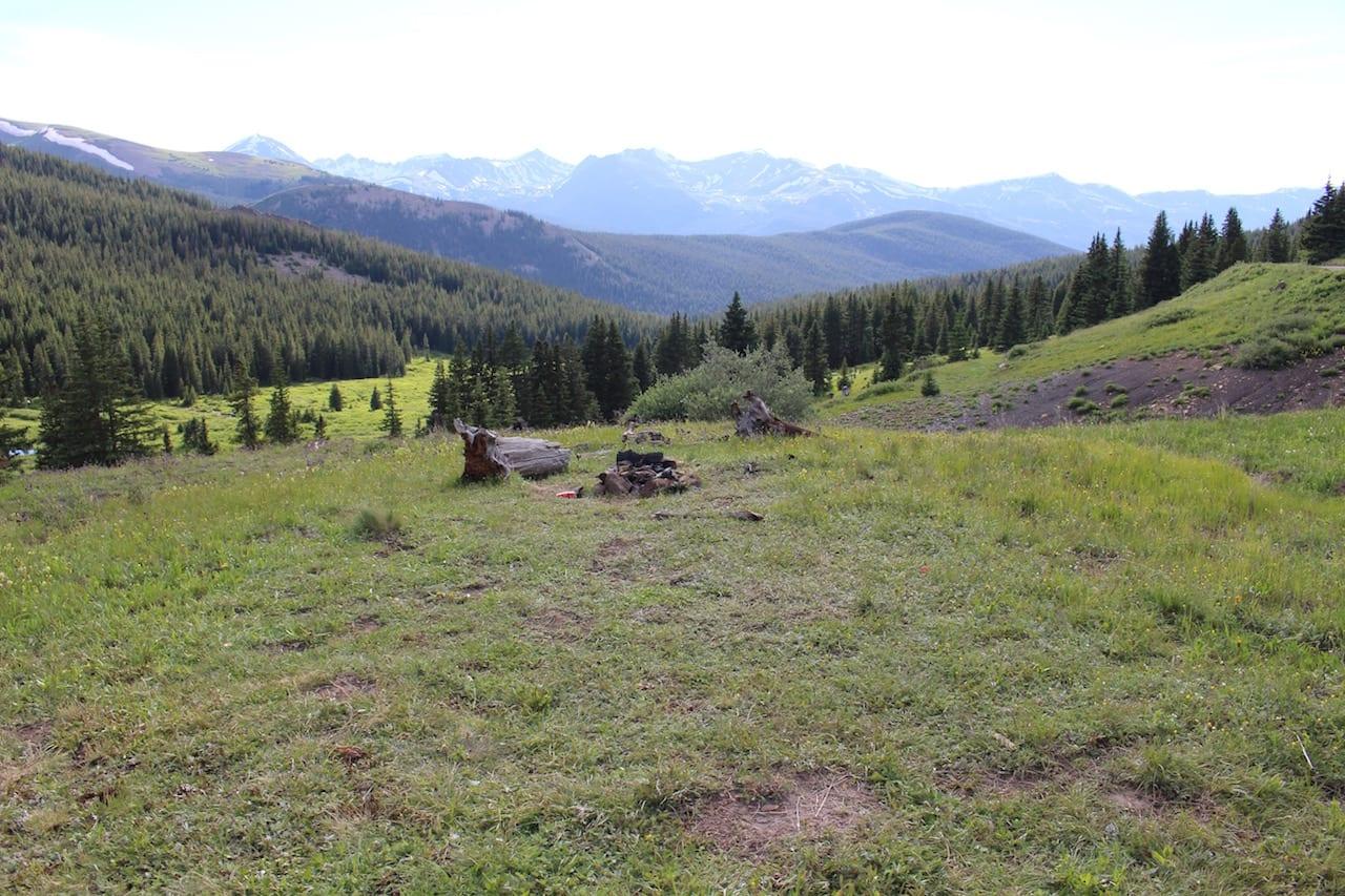 Boreas Pass Dispersed Campsite Tenmile Range