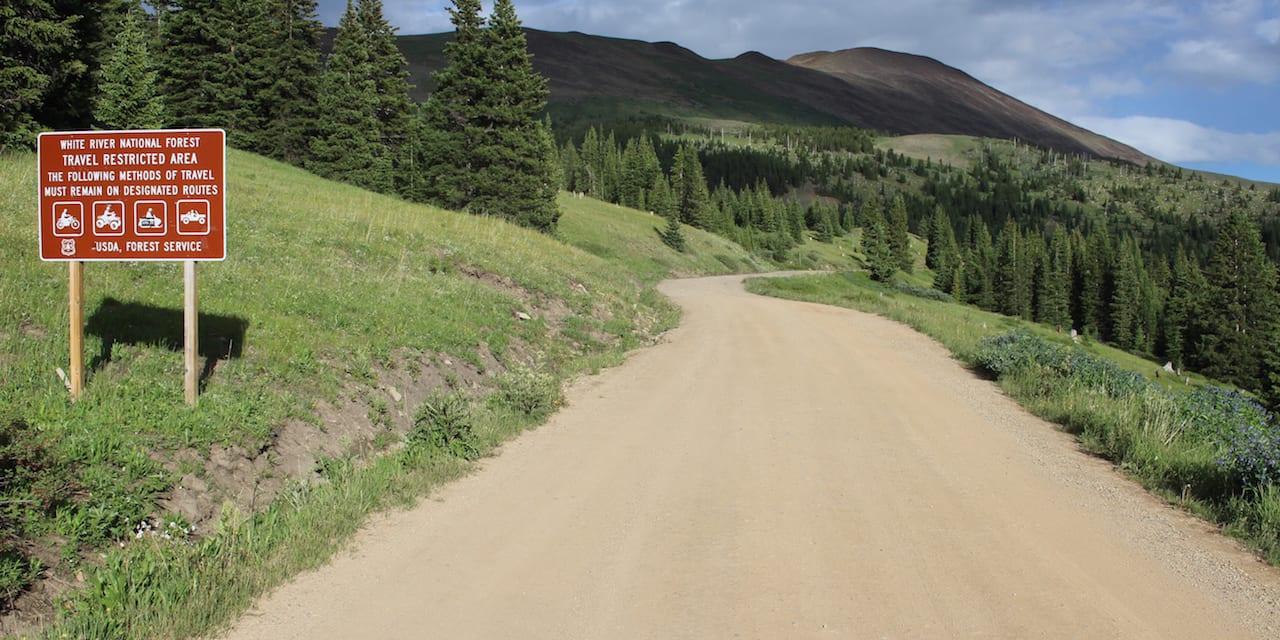 Boreas Pass Summit County Colorado
