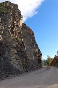 Boreas Pass Cliffs