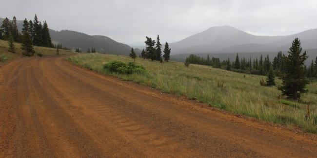 Boreas Pass Park County Colorado