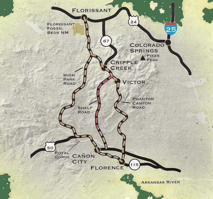Gold Belt Tour Scenic Byway – Florissant-Florence | Colorado ...
