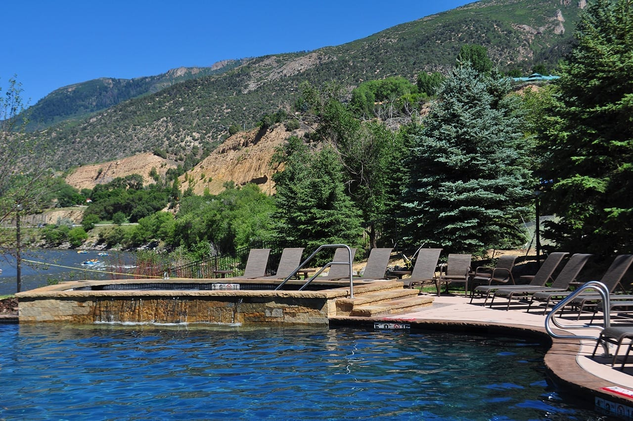 Iron Mountain Hot Springs Glenwood Springs Colorado