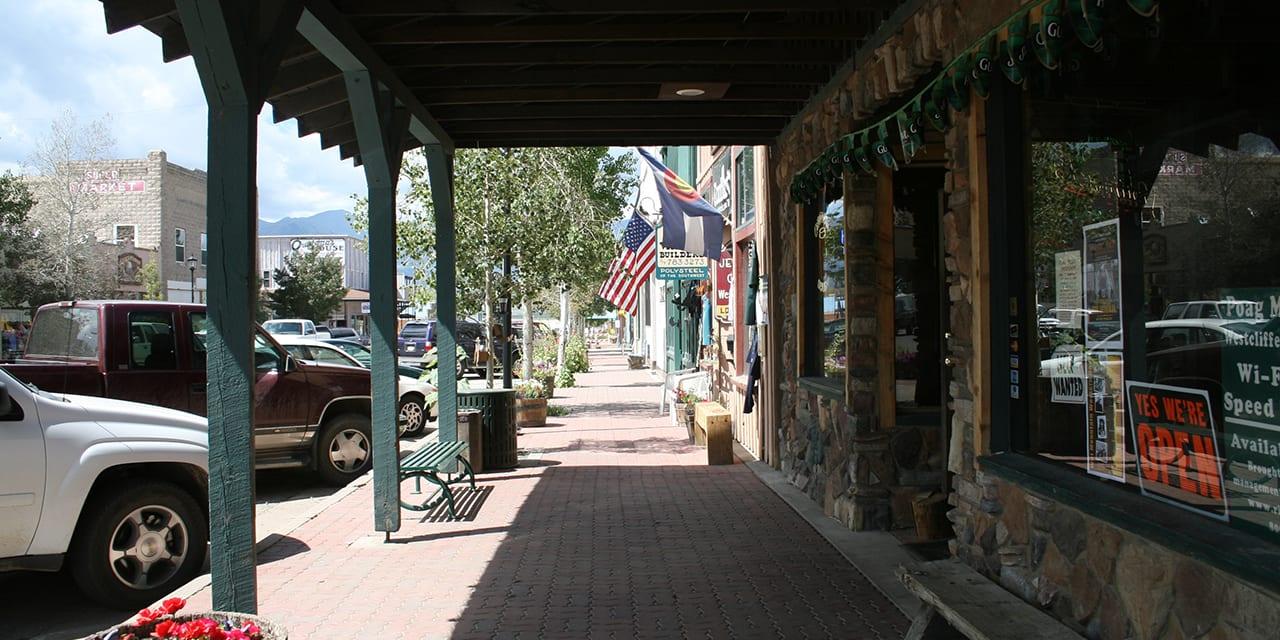 Westcliffe Colorado Downtown