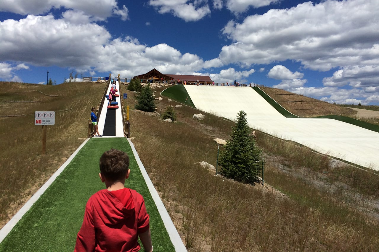 Snow Mountain Ranch Tubing Lift