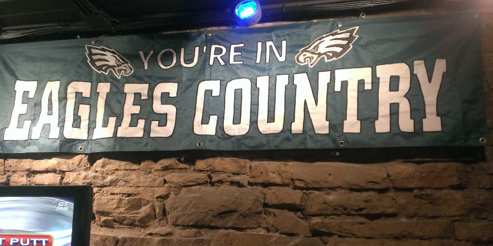 Pat's Downtown Bar Eagles