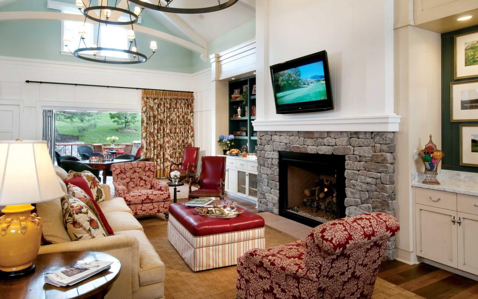 The Broadmoor Cottage Rental Interior Living Room