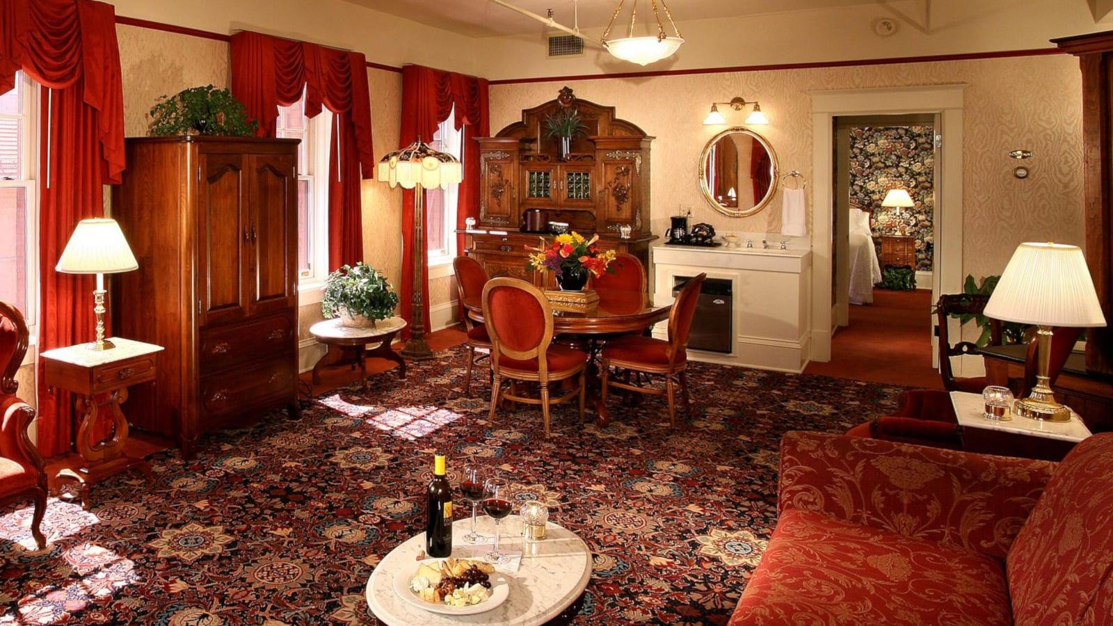 Boulder CO Best Hotel Boulderado Interior Room Suite