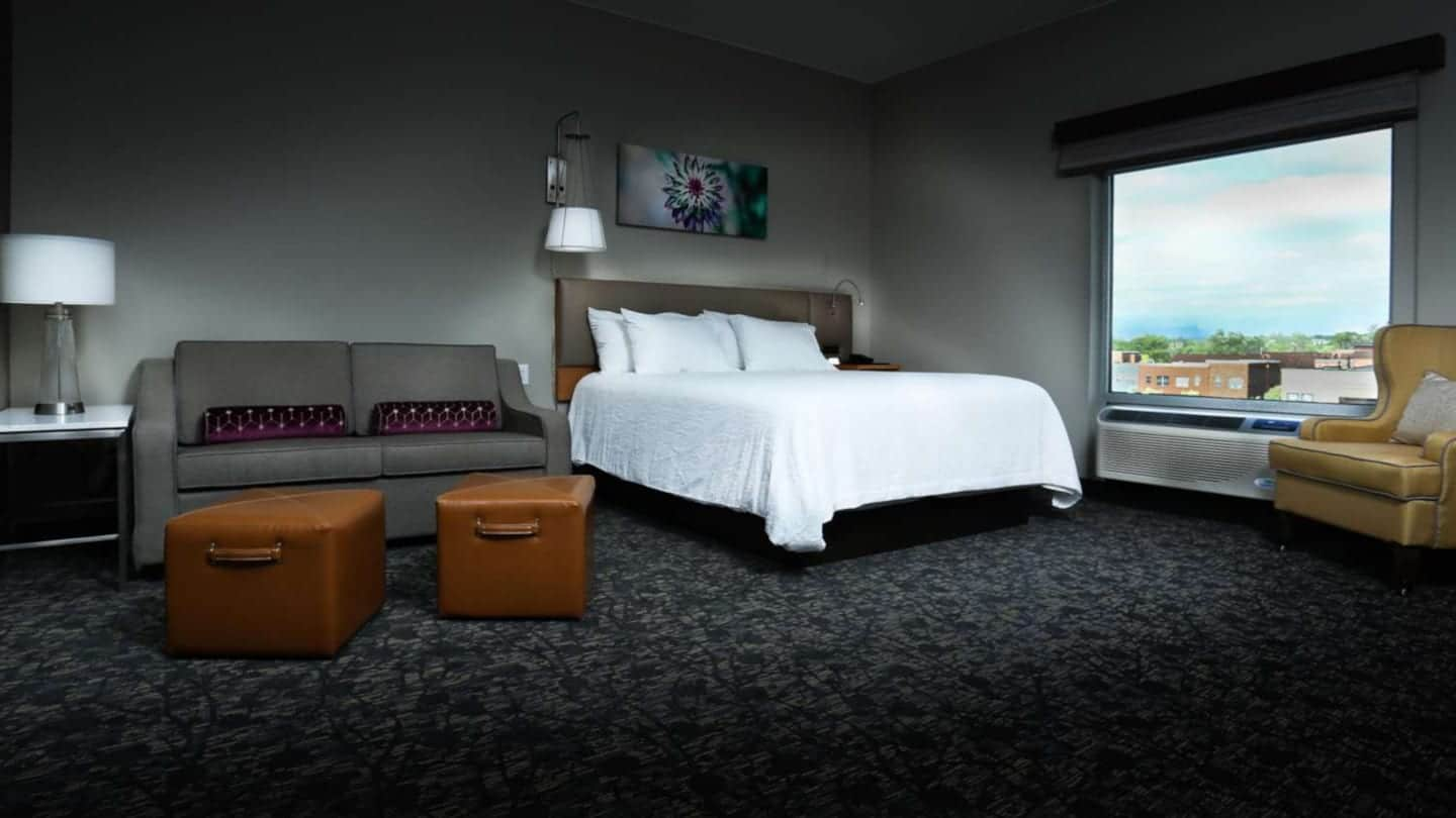 Best Hotels Arvada CO Hilton Garden Inn Arvada Denver Guest Room