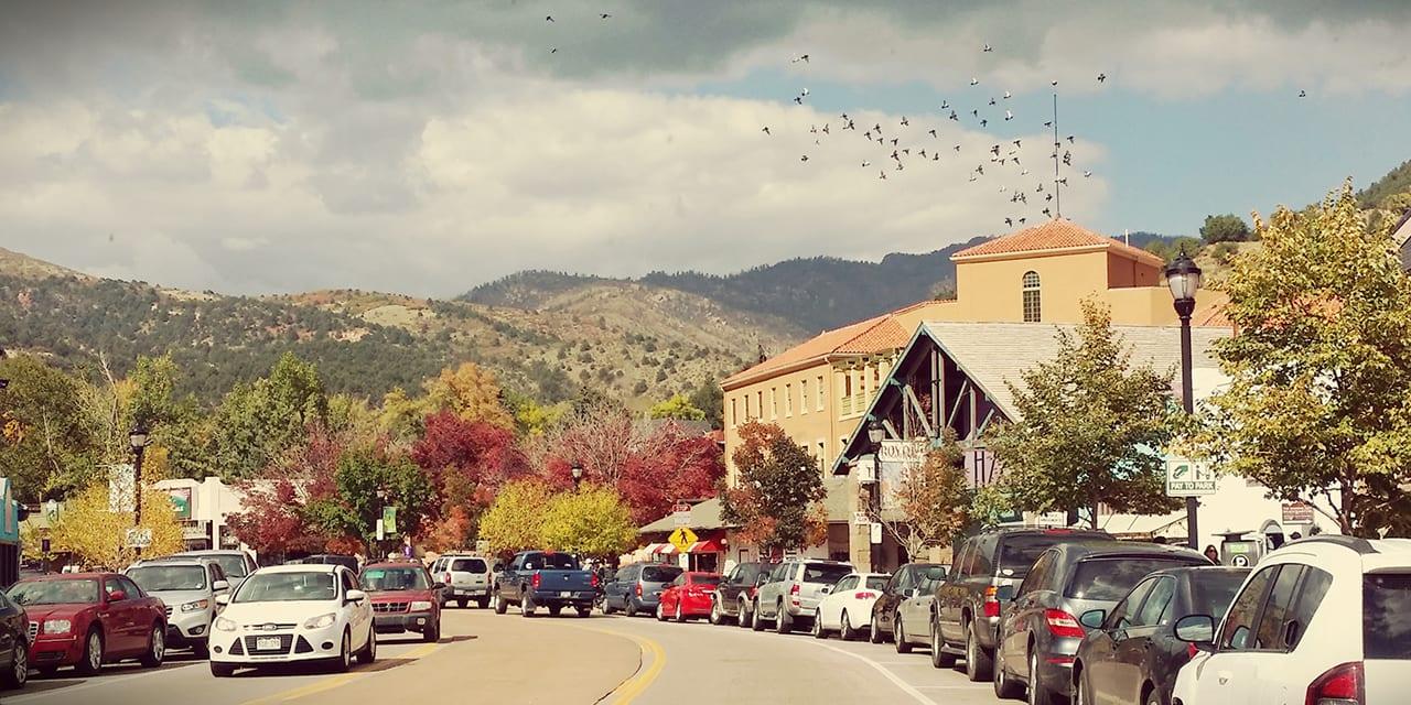 Historic Downtown Manitou Springs Colorado