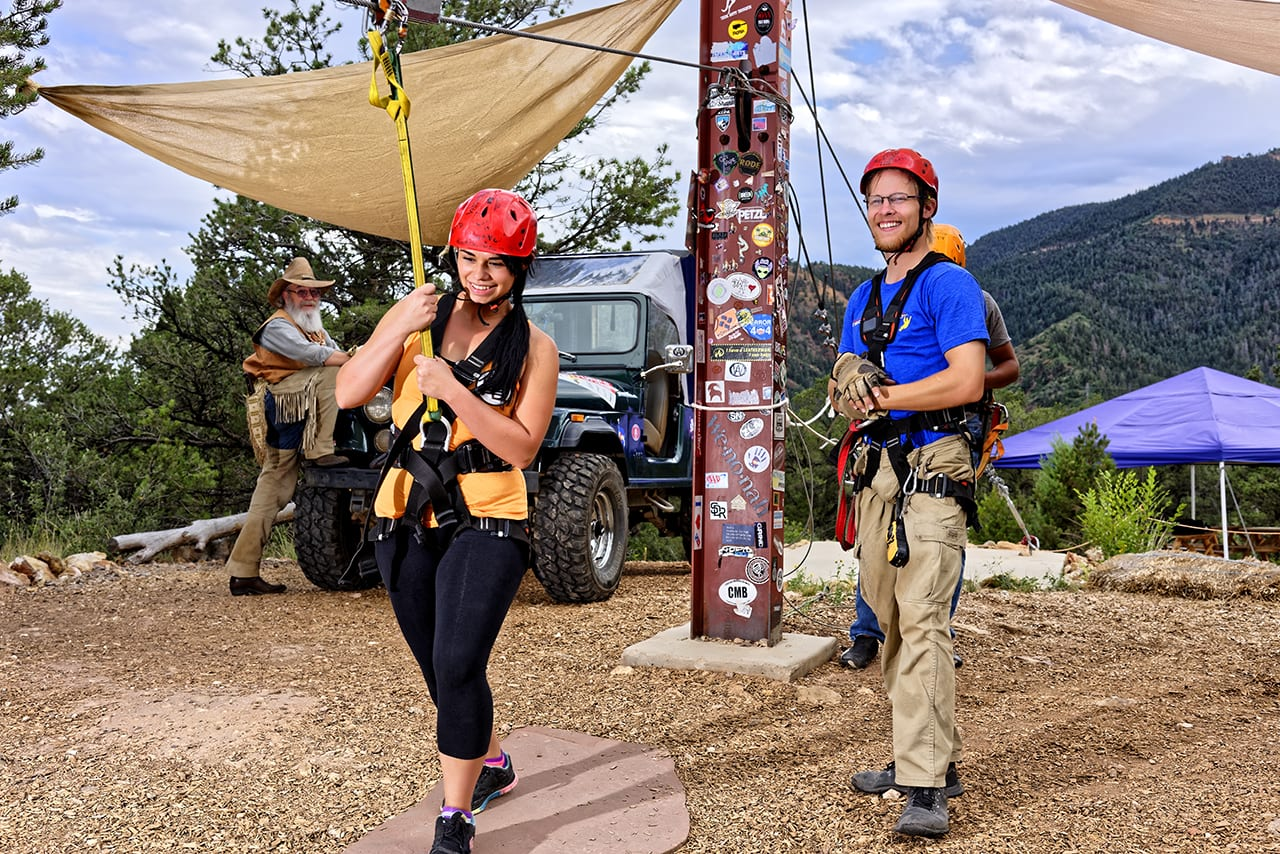Adventures Out West Zip Line Manitou Springs