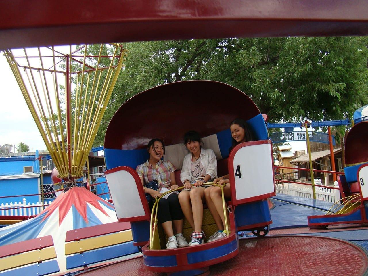 Heritage Amusement Park Amusement Park Zip Line Go
