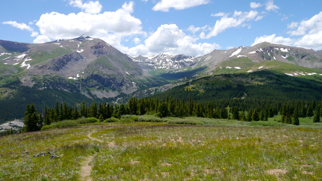 Hiking Hoosier Pass Park County Colorado